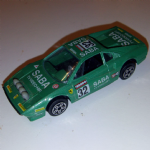 1:43 Burago Ferrari 308 GTB 1980's  Diecast model (GREEN) NO 32 SABA racing @sold@